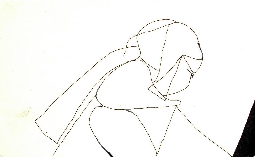 Tusche auf Papier 21x13cm 2012